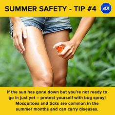 Summer Safety Tip