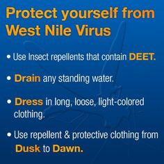 Protect info for West Nile